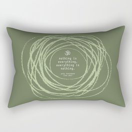 Nothingness Rectangular Pillow