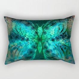 Butterfly Abstract G541 Rectangular Pillow