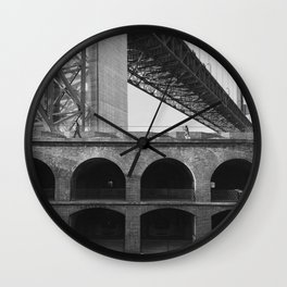 Fort Point Wall Clock
