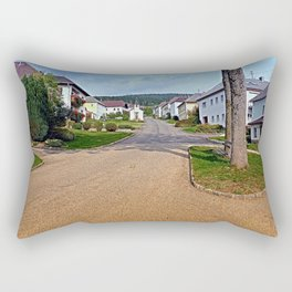 Picturesque small village center | architectural photography Rectangular Pillow