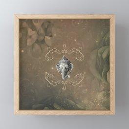 Ganesha, Hindu god Framed Mini Art Print