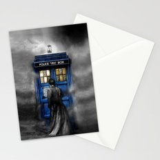 Tardis doctor who lost in the Mist apple iPhone 4 4s 5 5s 5c, ipod, ipad, pillow case and tshirt Stationery Cards