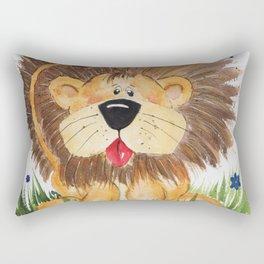 Lucas the Lion Rectangular Pillow