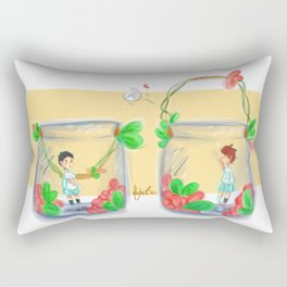 Iwaoi volleybottles / OIKAWA Rectangular Pillow