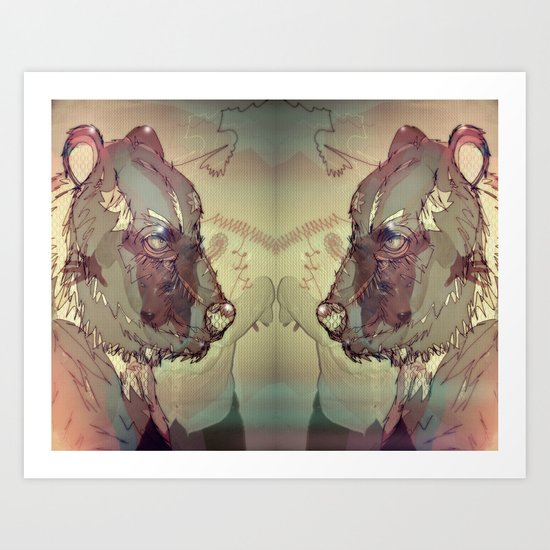 Threat Art Print
