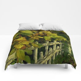 OLD FENCES COLOR Comforters