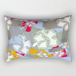 Shapes in Motion - Jongho Lee Rectangular Pillow