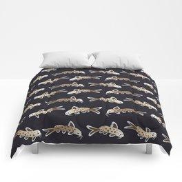 Leopard catfish Comforters