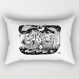 Hell my name is. Rectangular Pillow