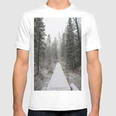Silverthorne, CO White Mens Fitted Tee MEDIUM
