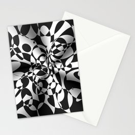 Op Art Boogaloo Stationery Cards
