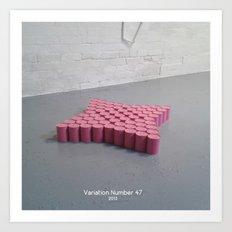 Variation Number 47 (photo) Art Print