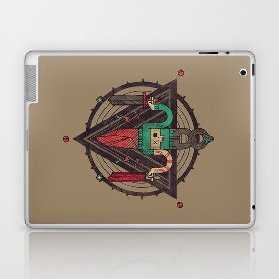 He, with the peculiar voice Laptop & iPad Skin