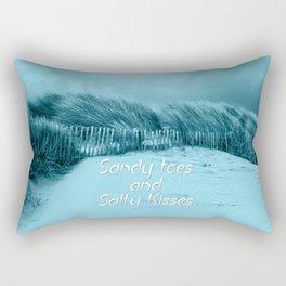 Sand and Kisses Rectangular Pillow