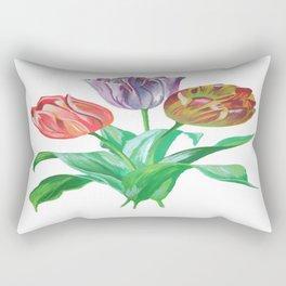 Tulip Trio Rectangular Pillow