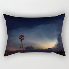 Hear the Thunder Rectangular Pillow