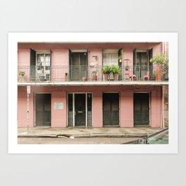 French Pink Art Print
