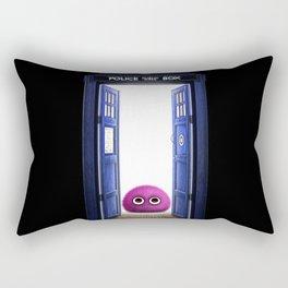 Tardis And Cute Monster Rectangular Pillow