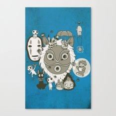 My Sweet Friends Canvas Print