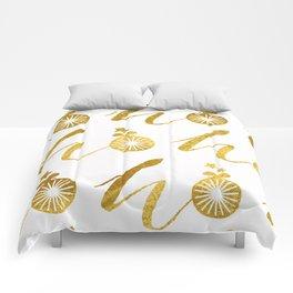 Gold Christmas 07 Comforters
