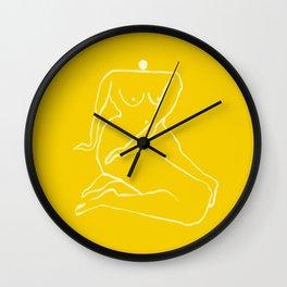 SUNNY WOMAN Wall Clock