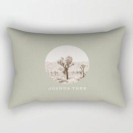 JOSHUA TREE / California Desert Rectangular Pillow