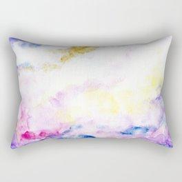 fantasy watercolor Rectangular Pillow