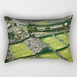 Wimbledon Tennis Rectangular Pillow