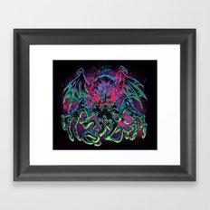 COSMIC HORROR CTHULHU Framed Art Print