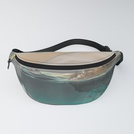 Village in the sea Fanny Pack