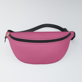 Pink Peacock | Pantone Fashion Color | Spring : Summer 2019 | New York and London | Solid Color Fanny Pack