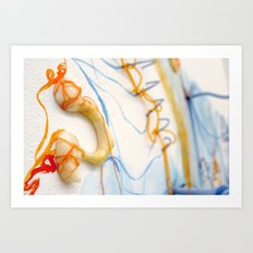 Junction//Detail Art Print