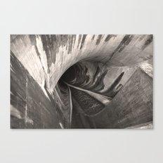 Dam Reticulation - the Void Canvas Print