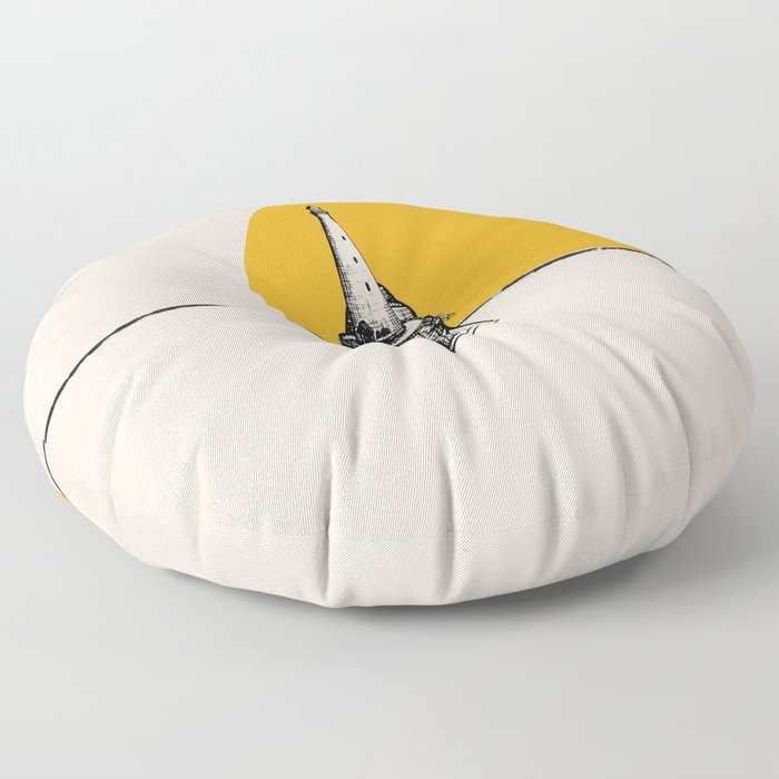 Lighthouse Minimalism Floor Pillow