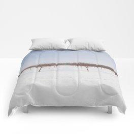 Frozen Orchard Comforters