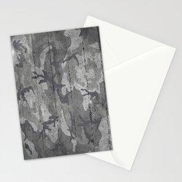 Urban Camo concrete wall Stationery Cards