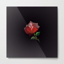 YOUR COLORS XS BLACK Metal Print