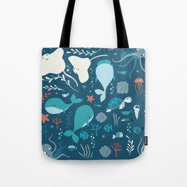 Sea creatures 004 Tote Bag