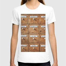 Pharmacy storage T-shirt