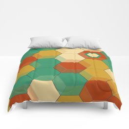 Honey Combs Baroque Comforters