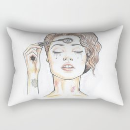 Awakened Rectangular Pillow