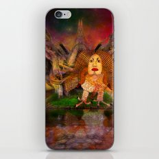 Wisdom only spreads its wings when souls true light begins to sing iPhone & iPod Skin