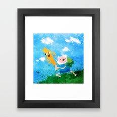 Battle Bros! Framed Art Print