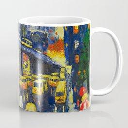 A Section Of The Busy Lagos Metropolis Coffee Mug