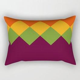 High School Math Teacher Retro Pattern Rectangular Pillow
