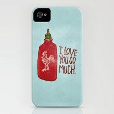 TRUE LOVE iPhone (4, 4s) Slim Case