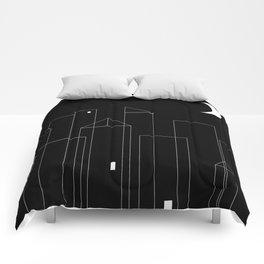 Nightowls (Ghost Town) Comforters