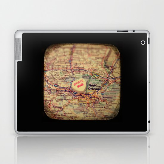 Brave One New Orleans Laptop & iPad Skin