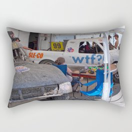 WTF? Rectangular Pillow