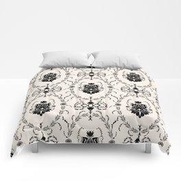Seamless wallpaper background floral vintage Comforters